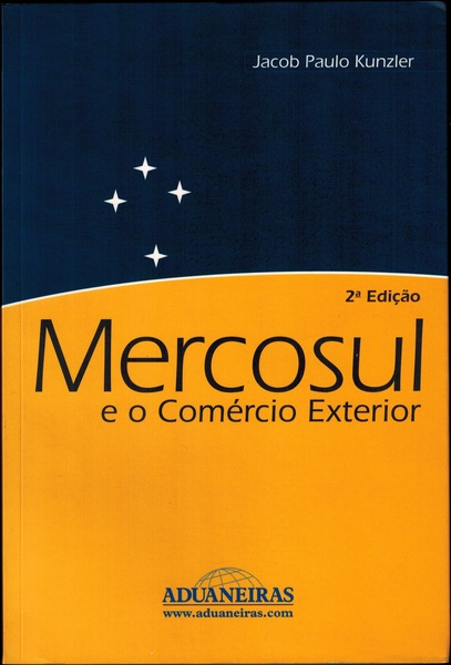 Mercosul e o com%c3%a9rcio int.   2%c2%aa edi%c3%a7%c3%a3o   anverso